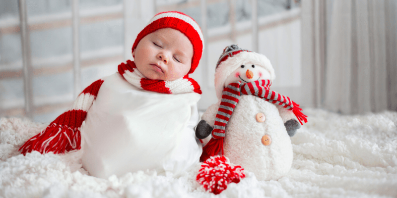 Christmas Newborn Photoshoot Ideas