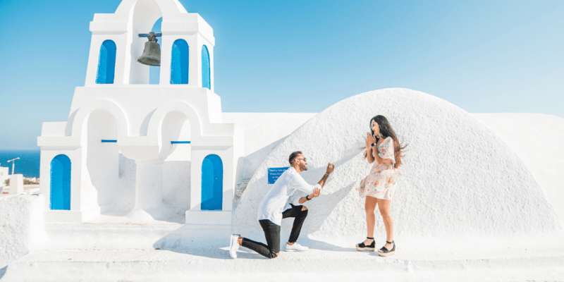 Photographing Couples During Marriage Proposal