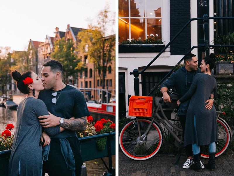 Vacation Photo Shoot in Amsterdam